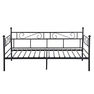 Tagesbett Metall 90x200 Schwarz Heimwerker Markt De