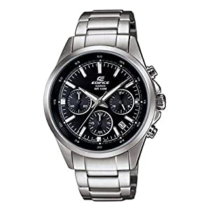 Casio Edifice Chronograph Black Dial Men's Watch-EFR-527D-1AVUDF (EX098)
