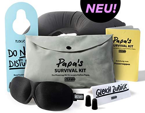 NEU - Papa's survival Kit - Das Powernap Kit Geschenk für ausgeschlafene Papas und werdende Väter!