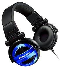 Pioneer Sealed dynamic stereo headphones Blue SE-MJ732-L