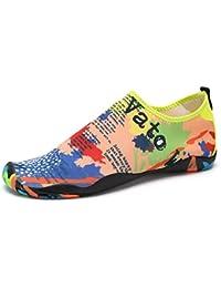 SAGUARO® Barefoot Water Skin Shoes Aqua Socks for Beach Swim Surf Yoga