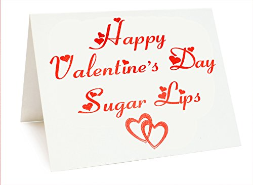 te-Happy Valentine 's Day Zucker Lippen ()