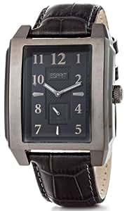 Esprit Herren-Armbanduhr Analog Quarz Leder A.ES102821003
