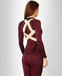 ®BeFit24 - Geradehalter zur Haltungskorrektur für Kinder, Damen und Herren mit schmalen Schultern - Rückenbandage für perfekte Haltung - Orthopädische Rückenstütze und Haltungsgurt fuer aufrechte Sitzposition und Körperhaltung sowie Rückenstabilisator und Rückenhalter für Schulter und Rücken - [ Size 3 - Beige ]