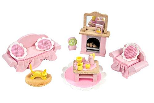 Daisylane Le Toy Van ME058 MUÑECAS Casas-roomsets Rosebud salón