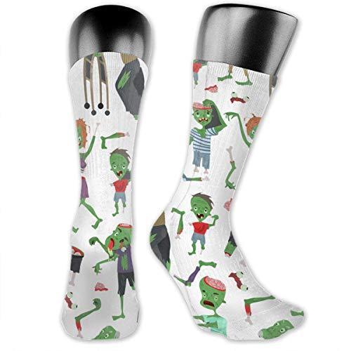 Crew Socks Zombie Cartoon Halloween Magic People Thick Warm Cotton Crew Winter Socks Personalized Gift Socks Ankle Socks ()