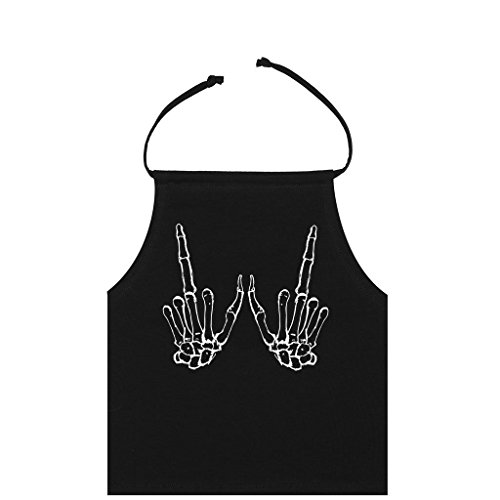 MINGA LONDON Damen Neckholder T-Shirt Schwarz