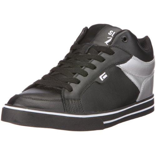 Sykum SYKUM S3000 Slim, Baskets mode mixte adulte noir / argent