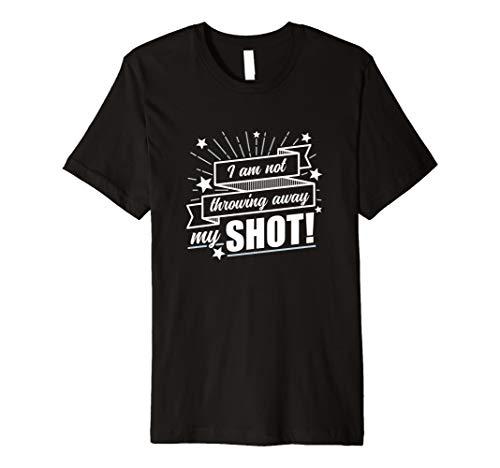 Ich bin, nicht My Shot-Hamilton T-Shirt (dunkel) - Dunkel Blau Grafik T-shirt