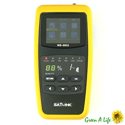 Satlink WS-6933 DVB-S2 FTA Band Digital Satellite Finder Meter