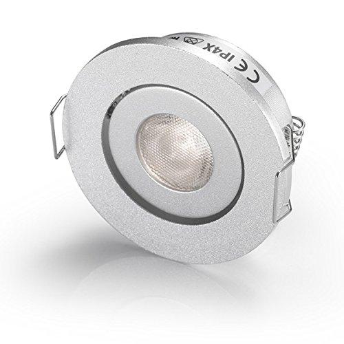 Pequeñas bombilas LED empotrables, iluminación para CREE LED, 3 W, blanco 6000...