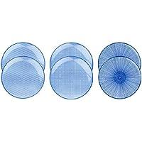 Bjorn Assiette Plate Ø26cm - 6 pièces - Collection Dark