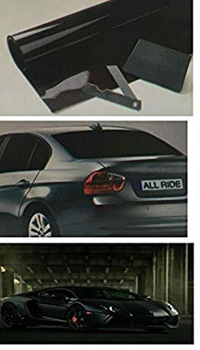 D.BLACK Car Van Limo Window Tint Film Reduce Sun Glare Universal Fit 3m x 50cm Kit by Shine - Windows-security-film