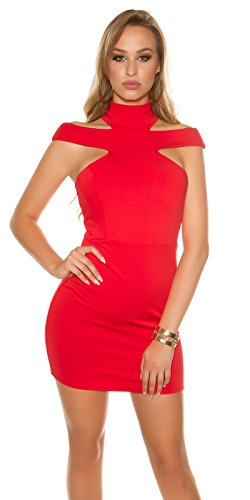 In-Stylefashion -  Vestito  - Donna Rot