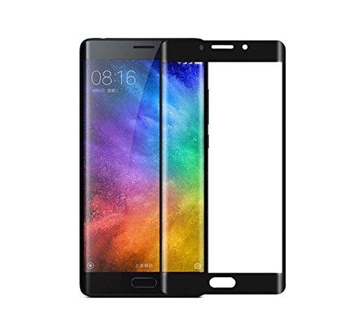 Xiaomi Mi note 2 Protector de Pantalla,Tuanhui Protector Cristal Vidrio Templado [9H Dureza][3D Touch][Alta Definicion] - Anti-Explosion/HD-display/Anti-water,oil and fingerprints/0.26mm Película protectora de la pantalla, lado oscuro