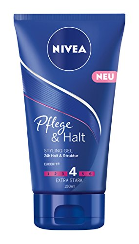 NIVEA Haar-Gel, Styling Gel, 150 ml Tube, Pflege & Halt