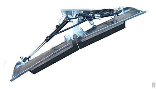 Universal Vario Schneeschild V 150 cm hydraulisch feuerverzinkt Schneeschieber Winterdienst