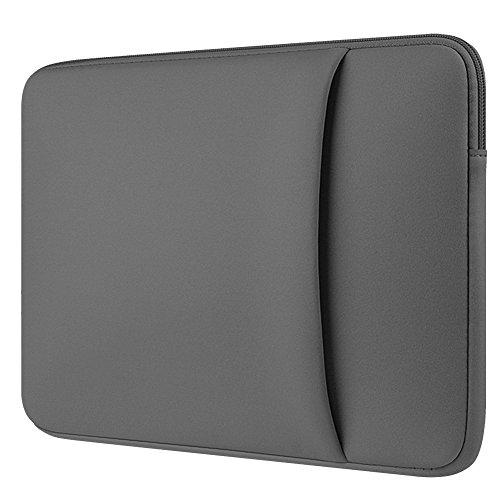 Laptop Hülle Tasche für 11/12/13/14/15/15.6 Zoll Macbook Mac/Air/Pro Retina Shockproof Neopren Sleeve/Case/Cover,Grau 2