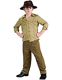 Rubies Costume Co R883124-M Child Indiana Jones Gr--e Medium