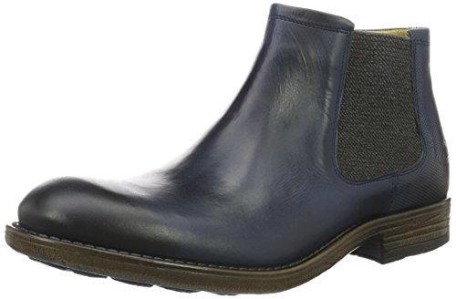 camel active Herren Taylor 18 Chelsea Boots Blau (jeans 01)
