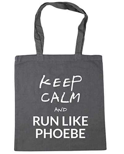 hippowarehouse-keep-calm-and-run-like-phoebe-tote-shopping-gym-beach-bag-42cm-x38cm-10-litres