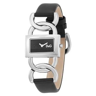 Dolce & Gabbana DW0562 – Reloj de caballero de cuarzo, correa de piel color negro