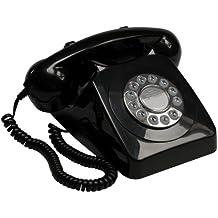 GPO 746 - Teléfono fijo analógico, negro [importado]