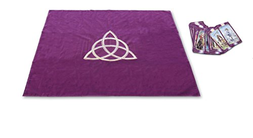 Tarot Cloth Wicca Purple Tp03 par Collectif