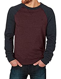 Pull Element Meridian Crew Gris Heather-Eclipse Bleu Fonce