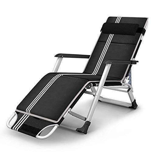 Oevina Lounge Chair Patio Faltbarer Verstellbarer Liegesessel Lazy Chair für Outdoor Yard Porch Beach