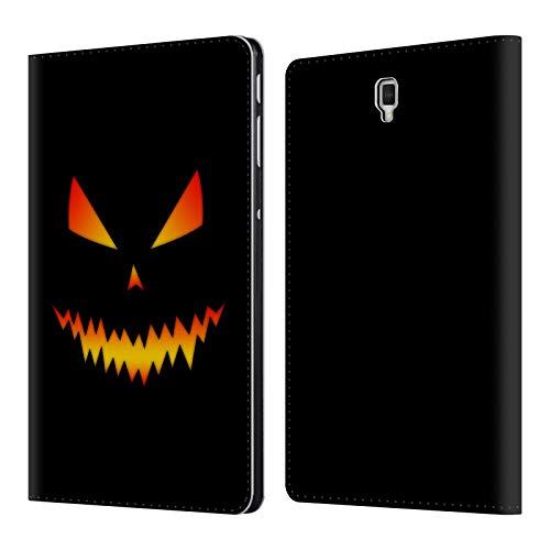Head Case Designs Offizielle PLdesign Jack O Lantern Halloween Brieftasche Handyhülle aus Leder für Samsung Galaxy Tab S4 10.5 (2018)