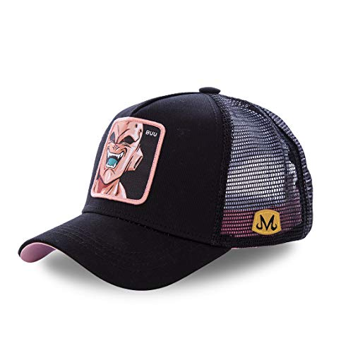 Gorra Collabs Dragon Ball Z - Majin Boo negra - Gorra Béisbol