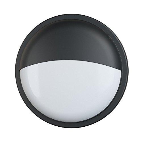 LightHub 20W LED Runde Aussen Wandlampe wandleuchten Haustür beleuchtung Gartenhaus Veranda...