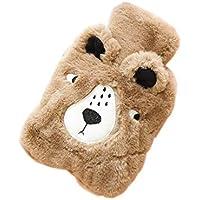 Brown Bear Cute Wärmflasche mit weicher Flanellhülle Tragbar, 20 * 14cm preisvergleich bei billige-tabletten.eu