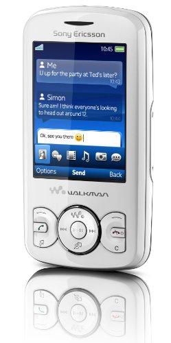 Sony Ericsson Spiro Handy (3.5mm Klinkenstecker, TrackID, 2.0 MP, UKW-Radio) white out