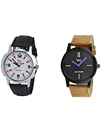 Watch Me Gift Combo Set For Him/Watches For Men/Watches For Boys (watches 3 Combo/watches 2 Combo) WMC-002-BR-WMD... - B0778DNM9J