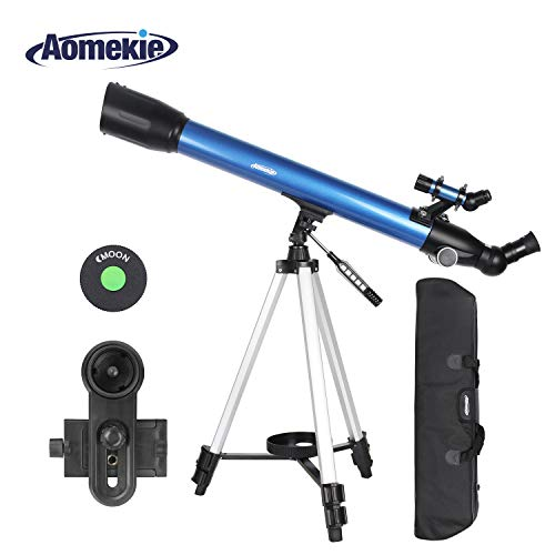 Aomekie Telescopio Astronomico 70/600 Telescopio Niños
