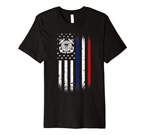 US Coast Guard American Flagge TShirt -