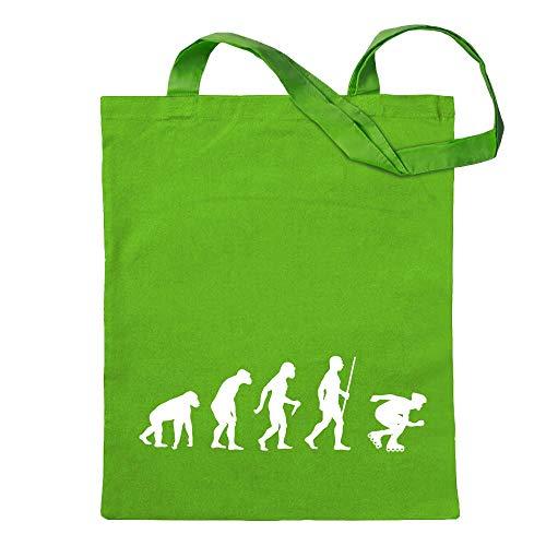 Inlineskaten Evolution T-Shirt Motiv Bedruckt Funshirt Design Print