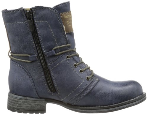 Mustang 5026601, Boots fille Bleu (800 Dunkelblau)
