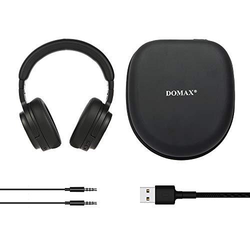 Noise Cancelling Kopfhörer bis 48 Std. Abspielzeit, Bluetooth Kopfhörer DOMAX M1, Noise Cancelling Kopfhoerer Komfortable, HiFi Stereo Over Ear Kopfhörer - 7