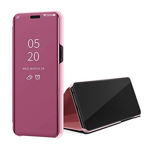 Samsung Galaxy Note 4 Espejo Ultra Slim Ligero Flip Funda 360 Protección...