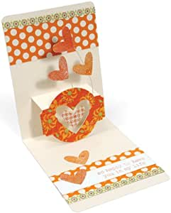 Sizzix Pop'n Cuts 3D Magnetic XL Die And Base Set 6''X13.75''-A2 Card W/Circle Label