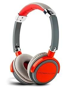 New Energy Sistem New Energy Dj 410 Deep Bass Headphone Red Grey
