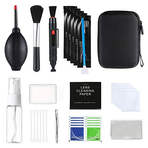 OOOUSE - Kit de Limpieza Profesional para cámaras réflex Digitales Canon, Nikon, Pentax, Sony-52...