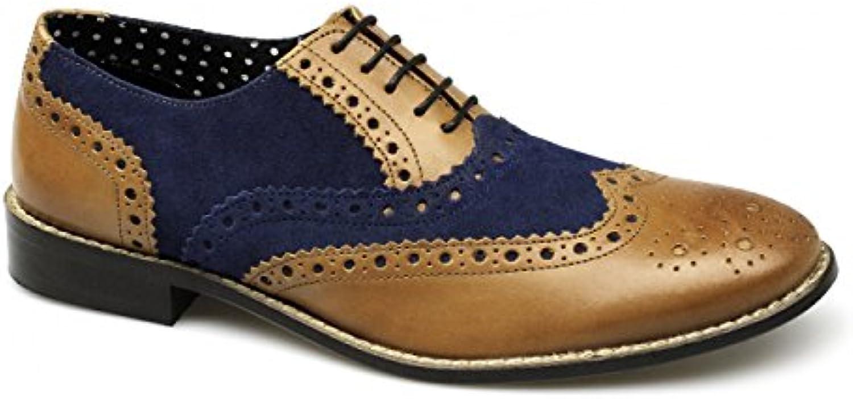 London Brogues, Scarpe stringate uomo Marronee Marronee blu | Una Grande Varietà Di Prodotti  | Gentiluomo/Signora Scarpa