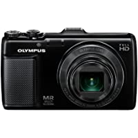 Olympus SH-25MR Digital Compact Camera - Black (16MP, 12.5x Superwide Optical Zoom) 3.0 inch Touch Panel LCD