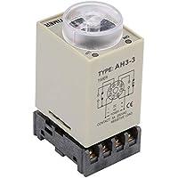 Relé De Retardo De Tiempo - Relé Temporizador Ajustable AC 110V Retardo De Tiempo Control Retraso Modo ON Con Base
