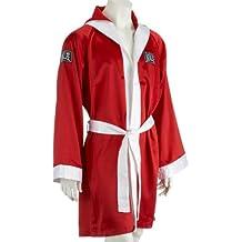 Benlee Rocky Marciano Hooded - Bata de boxeo para mujer, color Rojo, talla XL