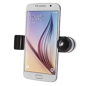 """wortek Universal Lüftungshalter KFZ Halterung bis ca. 6,5"""" Displays (bis 75mm Breite) mit Spange für Lüftungsschlitz (z.B. für Apple iPhone 5 / 5S / 6 / 6S, Sony Xperia Z3 / Z5 / Compact, Samsung S4 S5 / Mini S6 Edge HTC One etc.)"""
